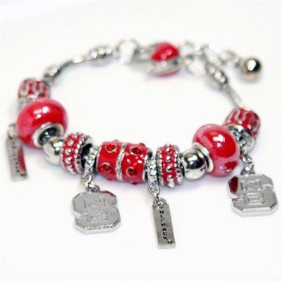 (Nc State Quad-charm Bracelet | North Carolina State)