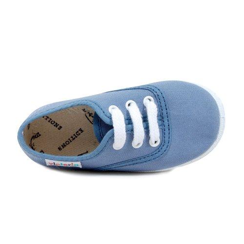 Victoria - Zapatos primeros pasos para niño azul - azul