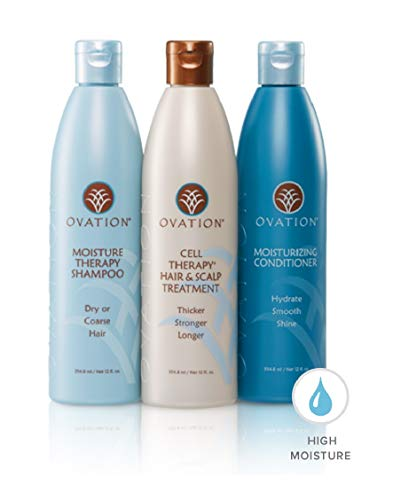 Ovation Moisture Cell Therapy 12 oz. System (Moisture Therapy Shampoo Free)