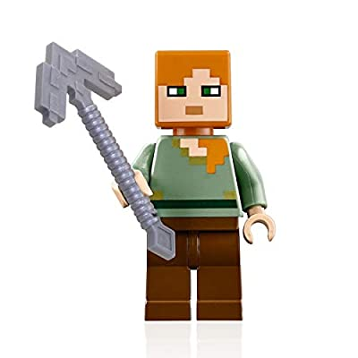 LEGO Minecraft Combo Pack - Steve, Alex, and Zombie Minifigures: Toys & Games