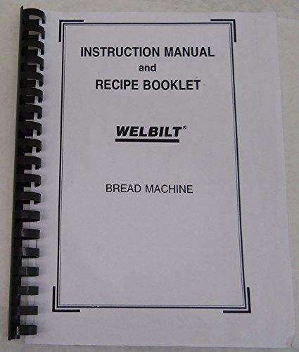 instruction manual for breville bread maker
