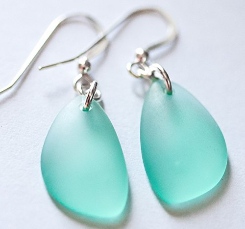 NUMBER ONE Selling Sea Foam Earrings from NAUTICAL SEA GLASS, Sea Foam,...