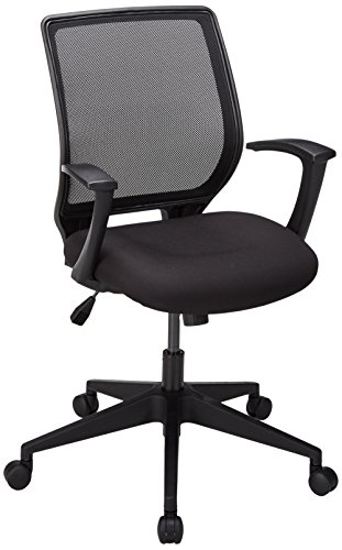 Lorell LLR84868 Executive Mid-Back Work Chair 2.6″ Height X 62.5″ Width X 26.8″ Length Black