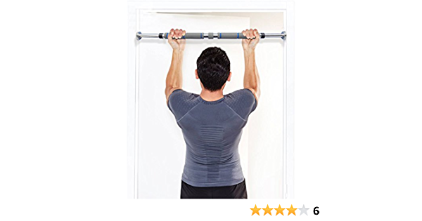 WawaVita Barra de dominadas para pared, carga maxima 200kg, Barra de entrenamiento adjustable de 60cm pulgadas a 100cm - profesional, telescópica, ...