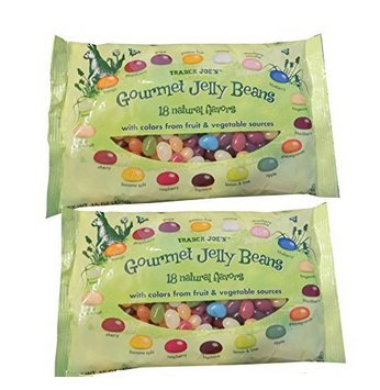 Trader Joe's Gourmet Jelly Beans 18 Natural Flavors 15 oz. (Pack of 2)