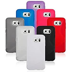 YULIN Kemile -Deign Protection Cover kin Acceory Good Quality Gel TPU ilicone Cae for amung Galaxy 6 (Aorted Color) , Red
