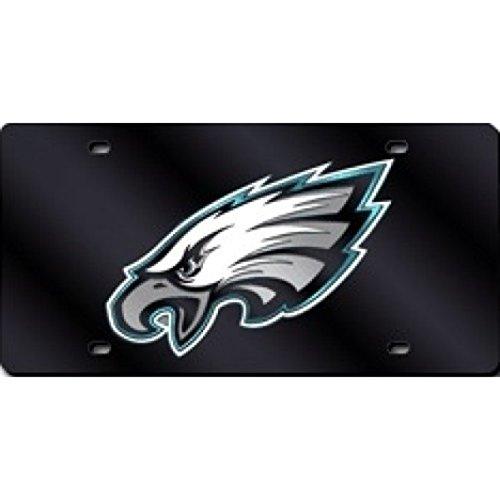 NFL Philadelphia Eagles Laser Inlaid Metal License Plate -