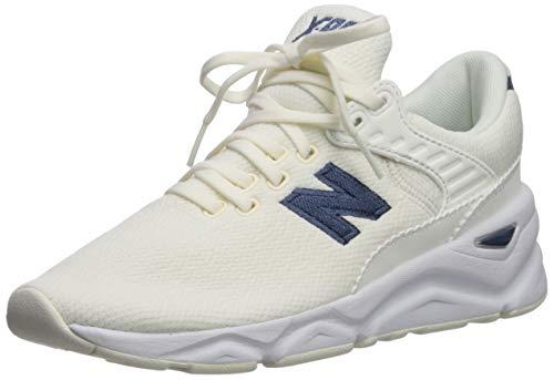 New Balance Women's X90 V1 Sneaker, SEA Salt/Vintage Indigo, 7.5 B US