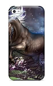for iphone 5/5S Case Cover Unicorn Horse Magical Animal I Case - Eco-friendly Packaging