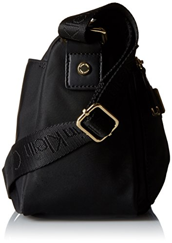 Calvin Body Nylon Black Klein East Gold West Cross Bag xHr1xvXq