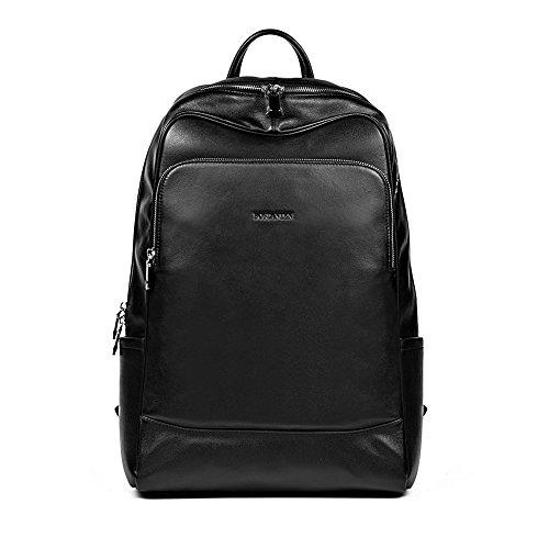 Travel Outdoor Computer Backpack Laptop Bag (Black) - 9
