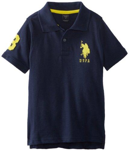 U.S. Polo Assn. Boys Pique Polo