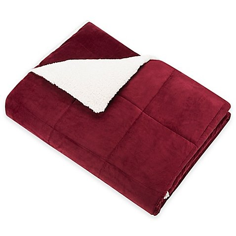 SoSoft Plush Throw in Red