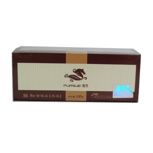 Pu DAO Co Brands China Most Famous Pursue Pure Taste 5+ Years Aged Pu Erh Puer Living Tea *Free Shipping At Checkout*