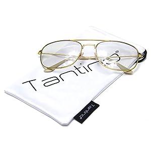 Tantino® Gold Metal Aviator Photocromic Transition Glasses Sunglasses Retro Vintage Fashion …