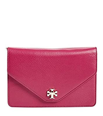 Tory Burch Kira Clutch in Raspberry