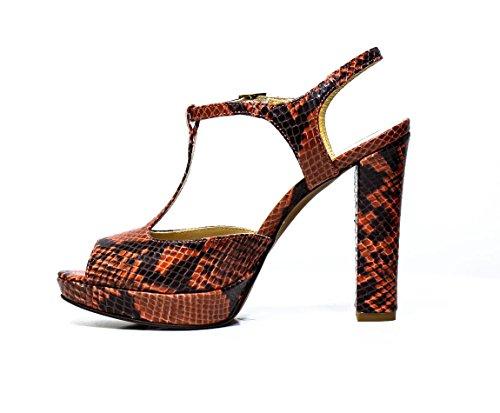 MATILDA femme sandale à talons hauts article 50267LON rose 50267LON