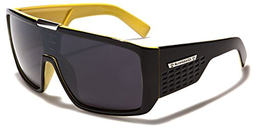 Biohazard Oversized Flat Top Men's Sunglasses Shield - Tortoise Nz Sale For