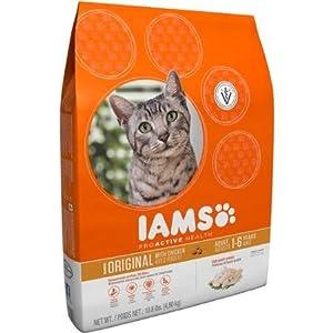 on sale Iams ProActive Health Original with Chicken Premium Dry Cat Food 10.8 lbs (1-6 years)