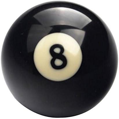 cueball16 Repuesto de Bola Negra de 2 Pulgadas para Pub/Babero estándar en inglés y mesas de Piscina en casa: Amazon.es: Deportes y aire libre