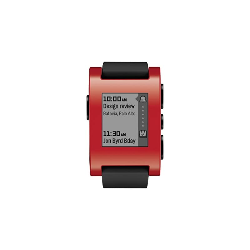 Pebble Smart Watch for iPhone and Androi