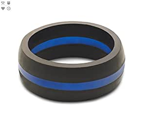 rubber wedding rings qalo silicone rings for men safe wedding band 7175