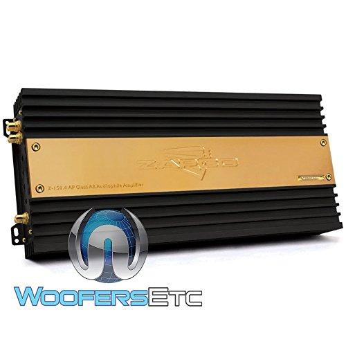 Zapco Z-150.4AP 4-Channel 1000W RMS Class AB Z-Series Amplifier