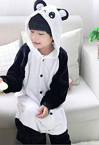 Kigurumi Kids Panda Onesie Cartoon Halloween Animal s Costumes Cosplay Tonwhar Children' 7xwIAqvX