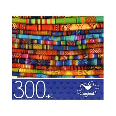Andean Textiles - 300 Piece Jigsaw Puzzle: Toys & Games