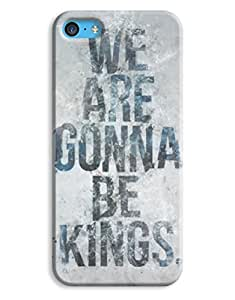 Breaking Bad - We are going to be kings iPhone 5c Hard Case Cover wangjiang maoyi by lolosakes