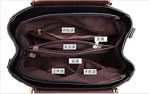de Mujer de Bolsa Gules Mano Hombro para Aire Bolsa caqui Bolso de Moda Gxinyanlong EwXPSS