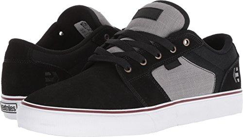 Etnies Men's Barge LS Skate Shoe, Black/Dark Grey/Silver, 11.5 Medium US
