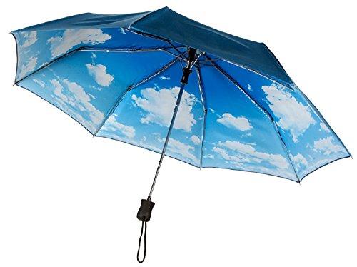 iridescent-navy-cloud-blue-sky-print-compact-auto-open-umbrella-windproof