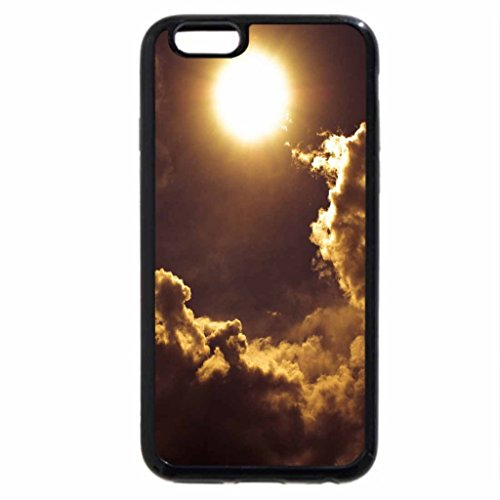 iPhone 6S / iPhone 6 Case (Black) sky castle