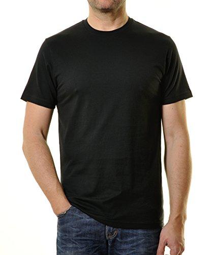 Ragman Tee Homme Col Noir Rond Singlepack shirt Ownk0P