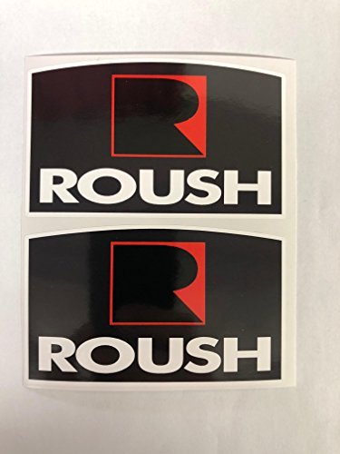 2 Roush Badge Style Decals by SBDdecals.com