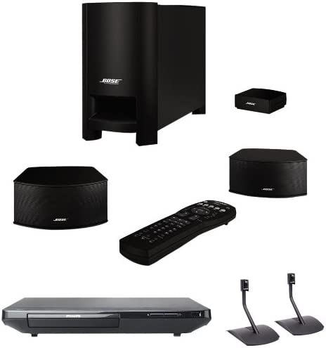 Bose ® CineMate ® GS System with Blu ray Disc Player and