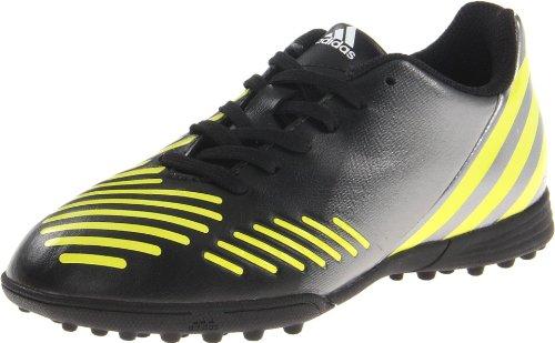 adidas Predito LZ TRX TF Soccer Cleat,Black/Lab Lime/Neo Iron Metallic,12.5 M US Little Kid (Shoes Adidas Predito Women)