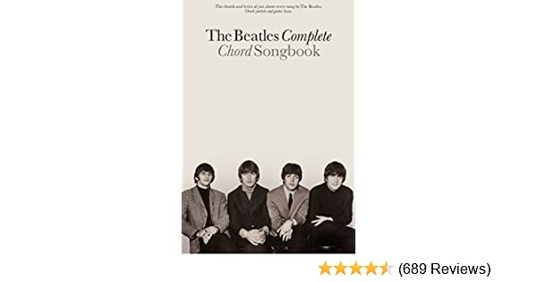 The Beatles Complete Chord Songbook Kindle Edition By Music Sales