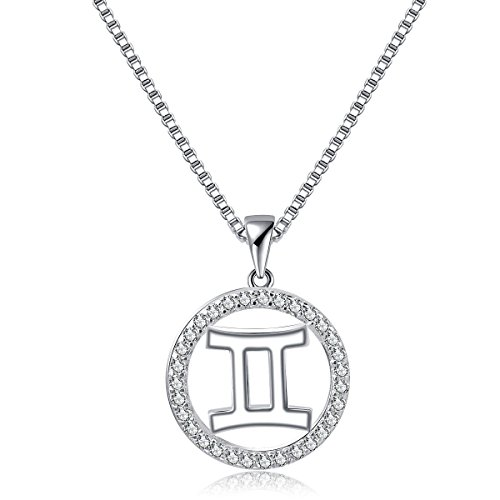 Bella Vida Necklace Constellation Horoscope Platinum