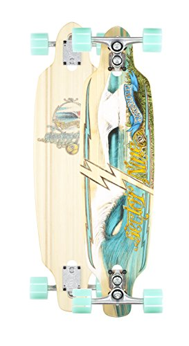 Sector 9 Shoots Complete Longboard Skateboard Cruiser (Seafoam Wheels w/ Stock Bearings)