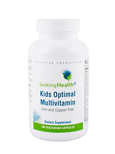 Seeking Health | Kid's Optimal Multivitamin | Kid's Daily Multivitamin | 180 Vegetarian Capsules | Children's Vitamin Supplement