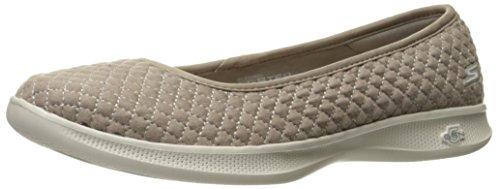 Skechers Womens Go Step Lite-14742 Walking Shoe Taupe