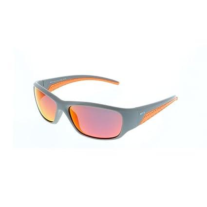 H.I.S gafas de sol polarizadas Niños HP 50105, gris/naranja/gafas de color