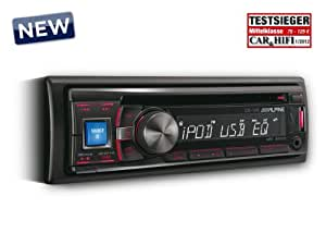 Alpine CDE-131R - Radio CD /controlador de USB y de iPod