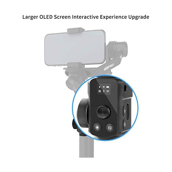 FeiyuTech G6 Max Stabilizzatore Gimbal per Mirrorless Smartphone Sports Camera Sony a6500, RX100, Gopro 9 8 7 6 5, Smartphone iPhone 11 Pro Max Huawei P30 P20+ Samsung s10+,1.2Kg Payload, Splash Proof 3 spesavip