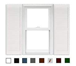 Polaris Open Louver Shutters