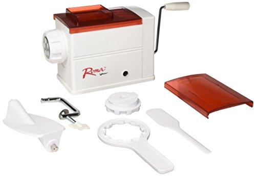 Weston Tube Pasta Machine (01-0701-W) with 5 Extruding Discs for Rigatoni, Bucovina, Mezze Penne, Tortiglioni, ()