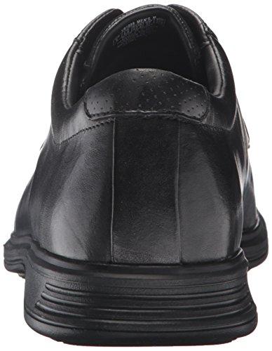 Rockport Mens Dressports 2+ Ljus Cap Toe Oxford Svart Läder