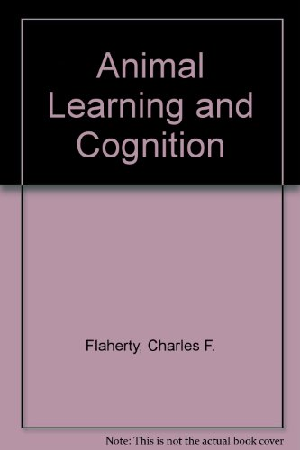 Animal learning and cognition (Alfred A. Knopf series in psychology)